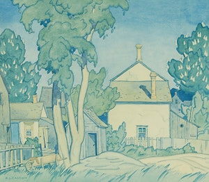 Artwork by Alfred Joseph Casson, Early Summer, Norval