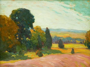 Artwork by John William Beatty, Summer Landscape