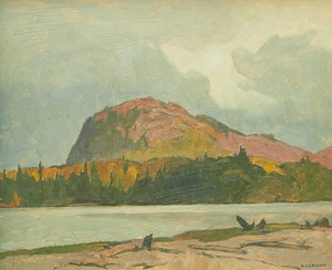 Artwork by Alfred Joseph Casson, Sombre Day, Lake of Bays