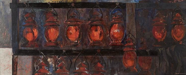 Artwork by Ghitta Caiserman-Roth,  Lanterns