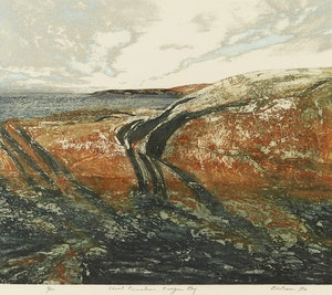 Artwork by Edward John Bartram, Shoal Formations, Georgian Bay