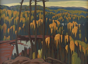 Artwork by Lawren Stewart Harris, Algoma Country