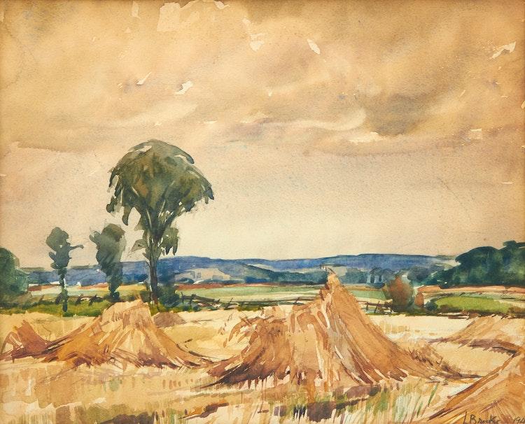 Artwork by Frank Leonard Brooks,  Landscape