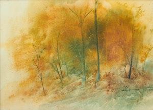 Artwork by Marjorie Pigott, Autumn Aria