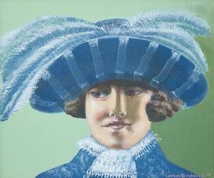 Artwork by Louis de Niverville, La Cocquette