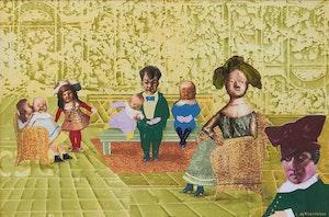 Artwork by Louis de Niverville, Sunday Visit