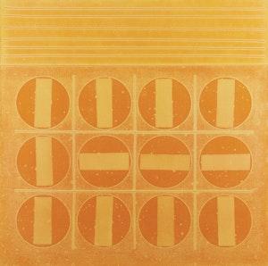 Artwork by Jacques Godefroy de Tonnancour, Sorbet aux douze oranges