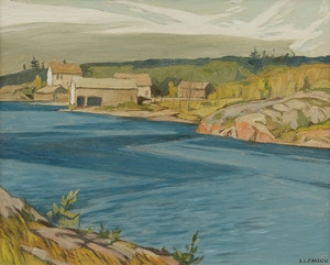 Artwork by Alfred Joseph Casson, Byng Inlet