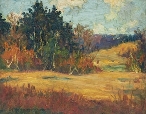 Artwork by Manly Edward MacDonald, Autumn Tints, Rosedale Golf Club