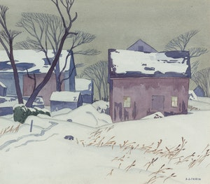 Artwork by Alfred Joseph Casson, Ringwood