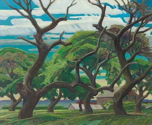 Artwork by Franklin Carmichael, Old Orchard