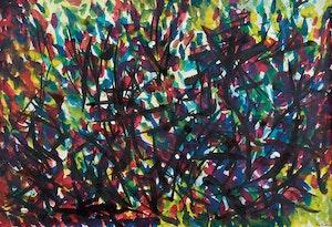 Artwork by Jean Albert McEwen, Untitled Abstract