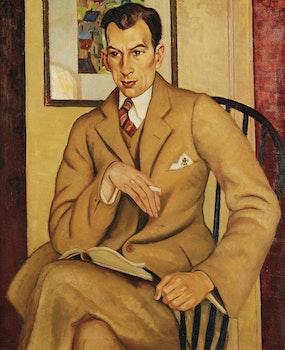 Artwork by Randolph Stanley Hewton, Portrait of Thomas Archer, Esq.
