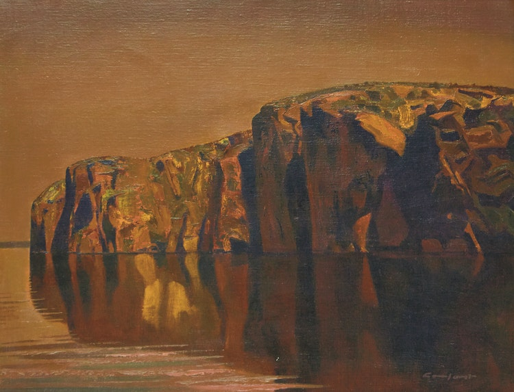 Artwork by Charles Fraser Comfort,  Northern Silence