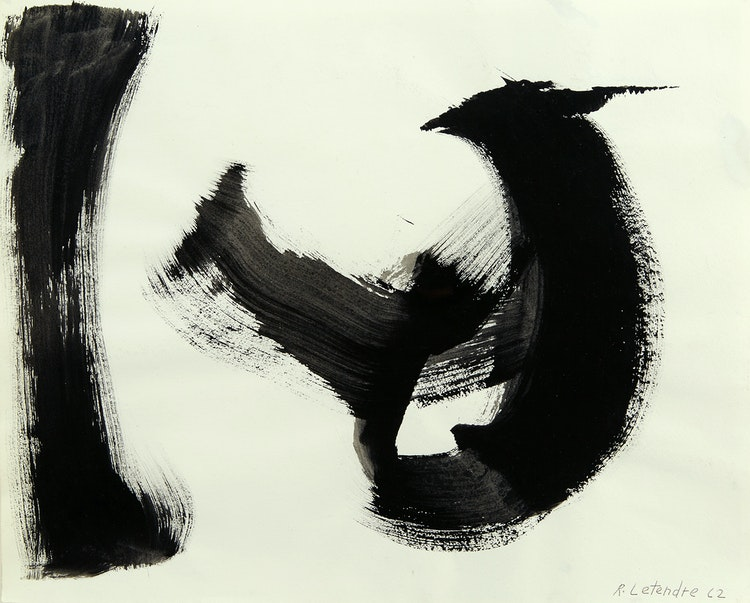 Artwork by Rita Letendre,  Serie B, No. 2 (FH-22P)
