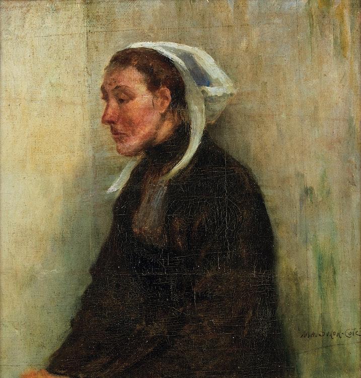 Artwork by Marc-Aurèle de Foy Suzor-Coté,  Portrait of a Woman