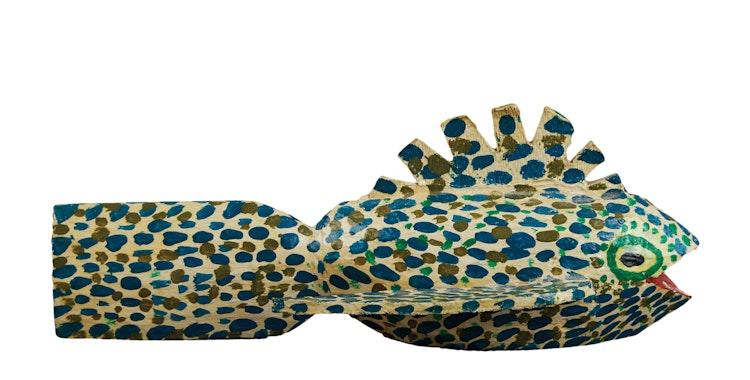 Artwork by  20th Century Canadian Folk artist,  Speckled Fish
