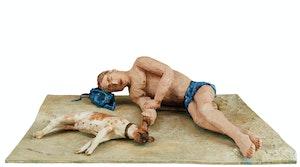 Artwork by Susan Longmire, Let Sleeping Dogs Lie