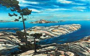 Artwork by Edward John Bartram, Island Cut, Moose Bay