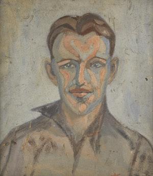 Artwork by Marian Mildred Dale Scott, Portrait of John King Gordon