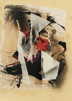 Artwork by Frank Leonard Brooks, Abstract Collage