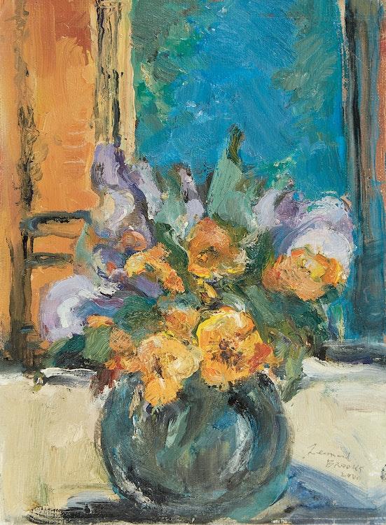 Artwork by Frank Leonard Brooks,  Mexican Flowers