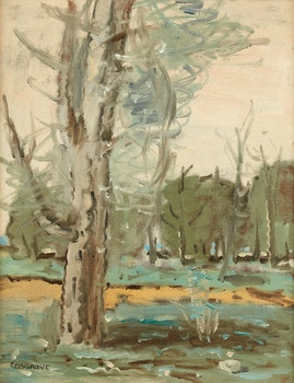 Artwork by Stanley Morel Cosgrove, Trees