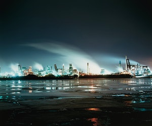 Artwork by Jesse Boles, Crude Landscape #104