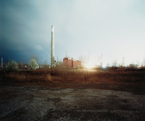 Artwork by Jesse Boles, Crude Landscape #58