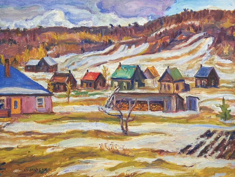 Artwork by Alexander Young Jackson,  Madawaska
