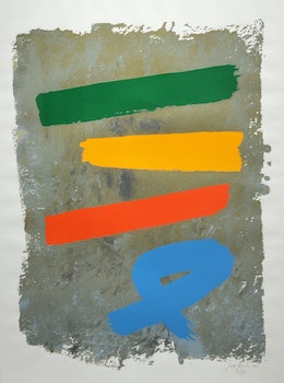 Artwork by Jack Hamilton Bush, Three and Blue Loop