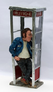Artwork by Patrick Amiot, Phone Booth