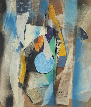 Artwork by Frank Leonard Brooks, Untitled Abstracts (2)