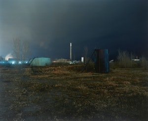 Artwork by Jesse Boles, Crude Landscape #91