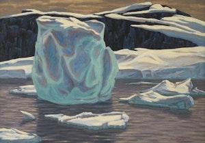 Artwork by Paul Rodrik, Icebergs