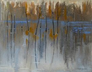 Artwork by Bobs Cogill Haworth, Still Water, Haliburton Highlands