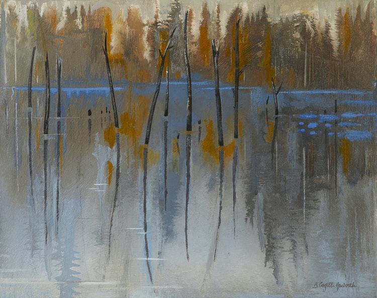 Artwork by Bobs Cogill Haworth,  Still Water, Haliburton Highlands