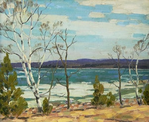 Artwork by George Thomson, Georgian Bay Ice