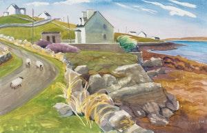 Artwork by Doris Jean McCarthy, Bed and Breakfast at Cashel, Connemara