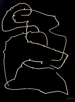 Artwork by Christian Marcel Barbeau, Un homme et une femme