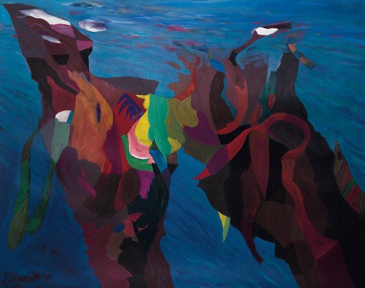 Artwork by Jack Leonard Shadbolt,  Sea Edge 5