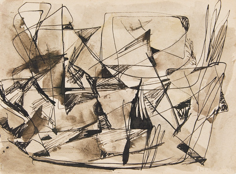 Artwork by Jean Paul Riopelle,  Sans titre