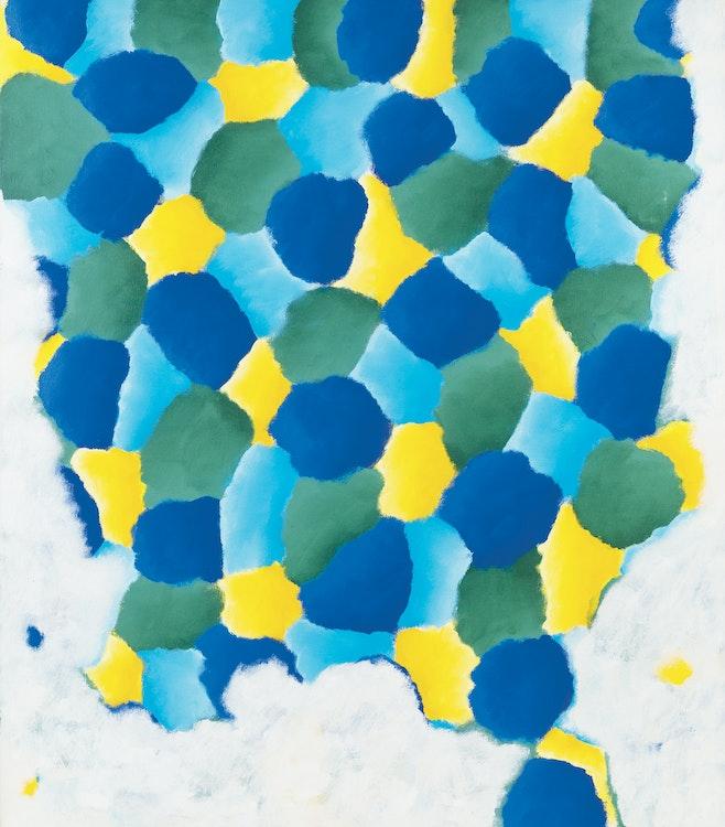 Artwork by Gershon Iskowitz,  Spring Yellows - B