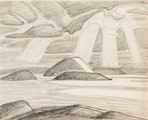 Artwork by Lawren Stewart Harris, Lake Superior (I.D. 463)