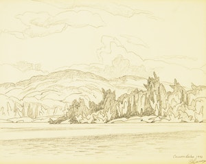 Artwork by Alfred Joseph Casson, Casson Lake