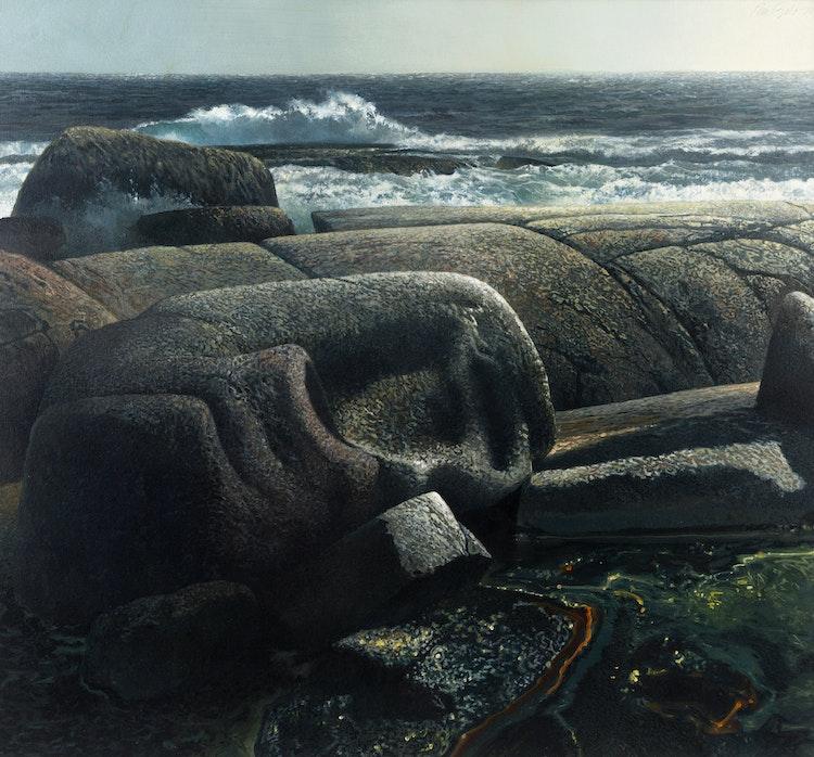 Artwork by Ronald William Bolt,  Summer Twilight, South Shore