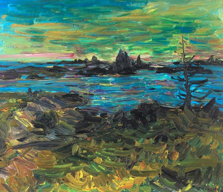 Artwork by William Goodridge Roberts,  Georgian Bay