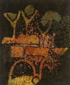 Artwork by Gérard Tremblay, L'Envol Des Signes