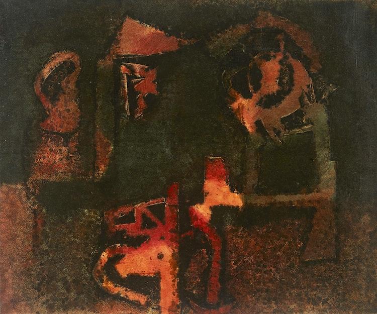 Artwork by Gérard Tremblay,  Le Moulin à Paroles
