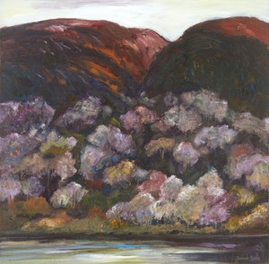 Artwork by Joanne Clarke, Old Mountain Shadows